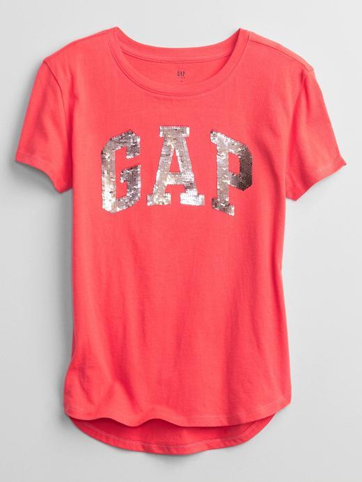 Kız Çocuk Pembe Gap Logo T-Shirt