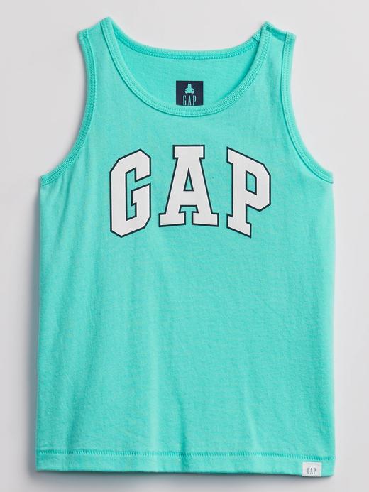Erkek Bebek Yeşil Gap Logo Askılı T-Shirt