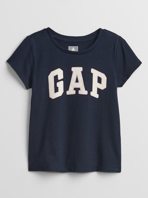 Kız Bebek Lacivert Gap Logo T-Shirt