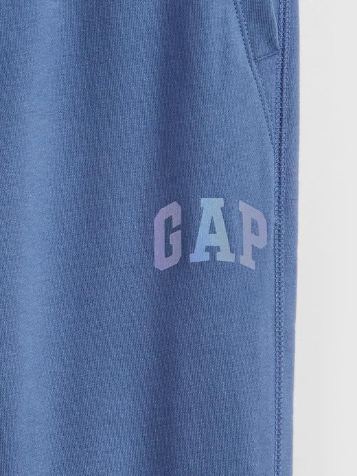 Erkek Çocuk Gri Gap Logo Pull-On Eşofman Altı