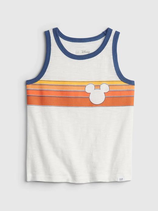 Erkek Bebek Beyaz Disney Mickey Mouse Grafik Desenli T-Shirt