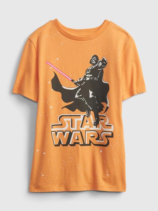 Erkek Çocuk Turuncu Star Wars™ Graphic T-Shirt