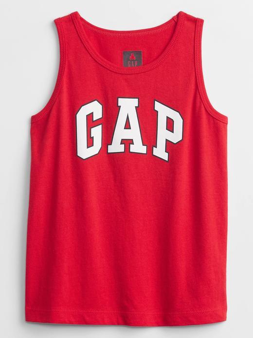 Erkek Bebek Kırmızı Gap Logo Askılı T-Shirt