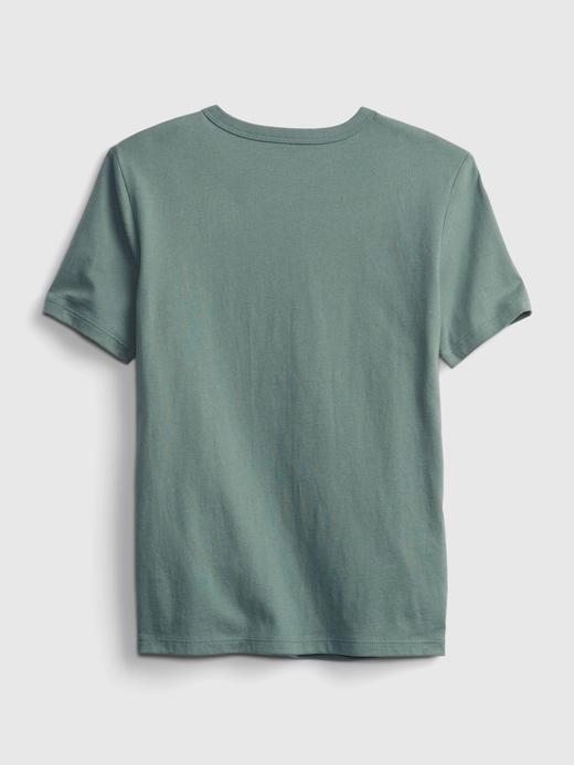 Erkek Çocuk Mor Grafik Desenli T-Shirt
