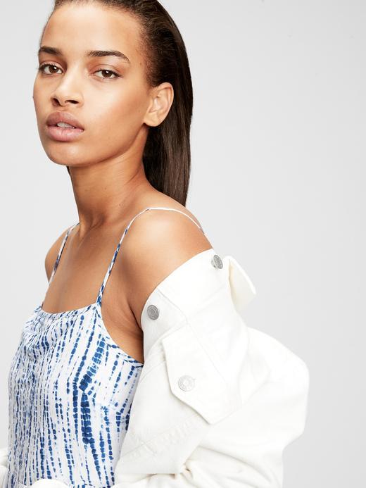 Kadın Turuncu Askılı Maxi Elbise