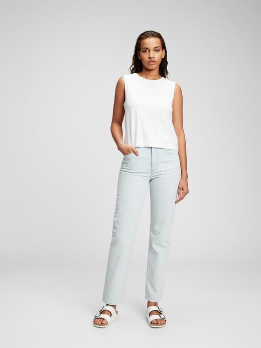 Kadın Beyaz Askılı T-Shirt