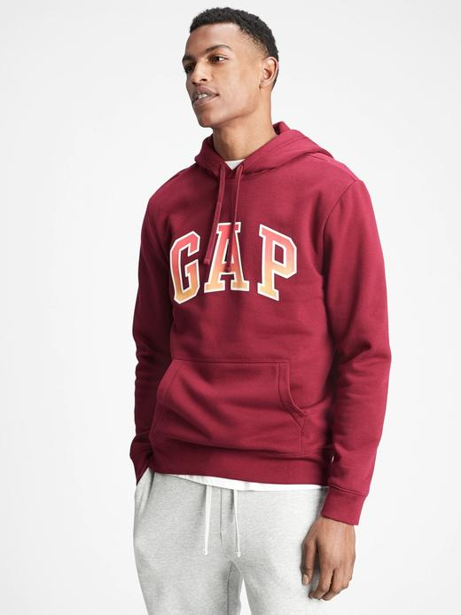 Erkek Kırmızı Gap Logo Sweatshirt