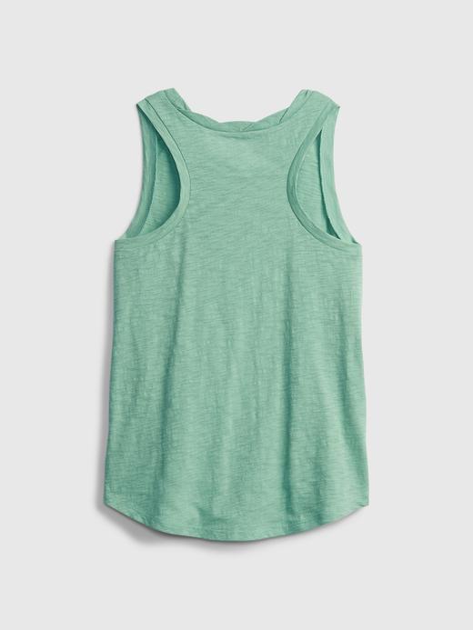 Kız Çocuk Sarı Askılı T-Shirt