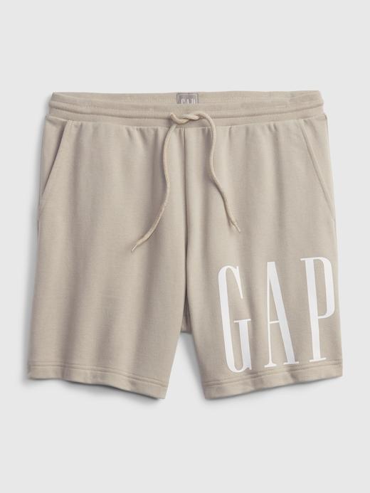 Erkek Bej Gap Logo Şort