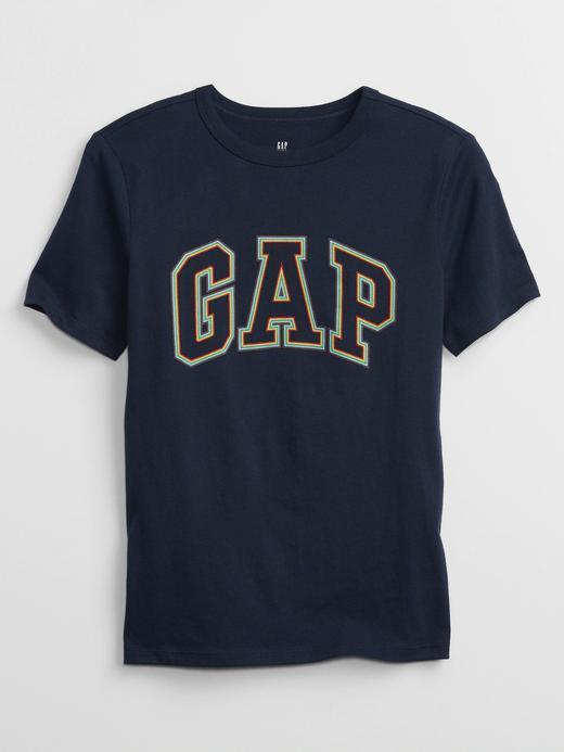 Erkek Çocuk Lacivert Gap Logo T-Shirt