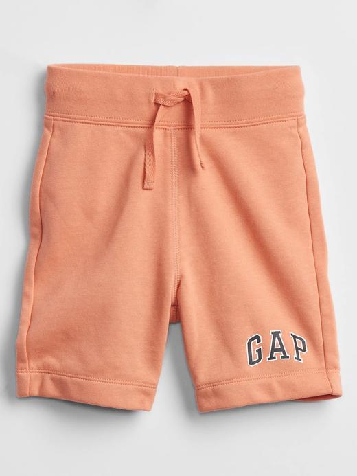 Erkek Bebek Turuncu Gap Logo Şort