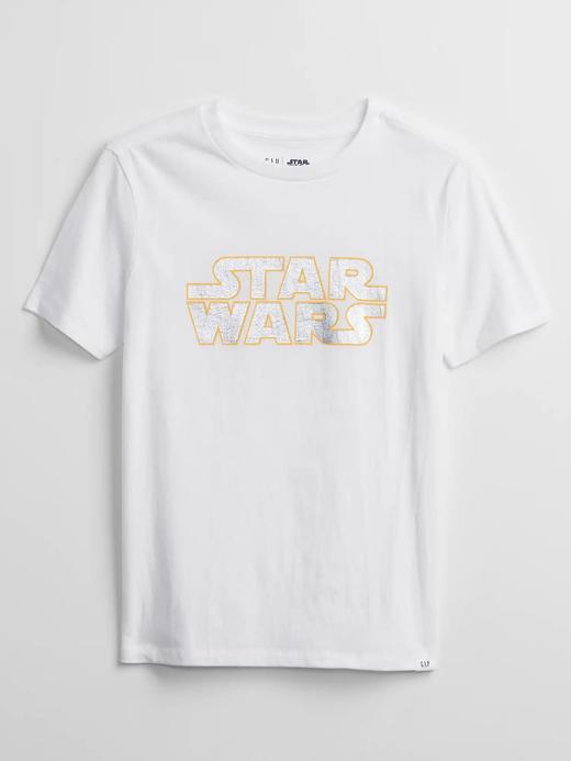 Erkek Çocuk Beyaz Star Wars ™ Grafik Desenli T-Shirt