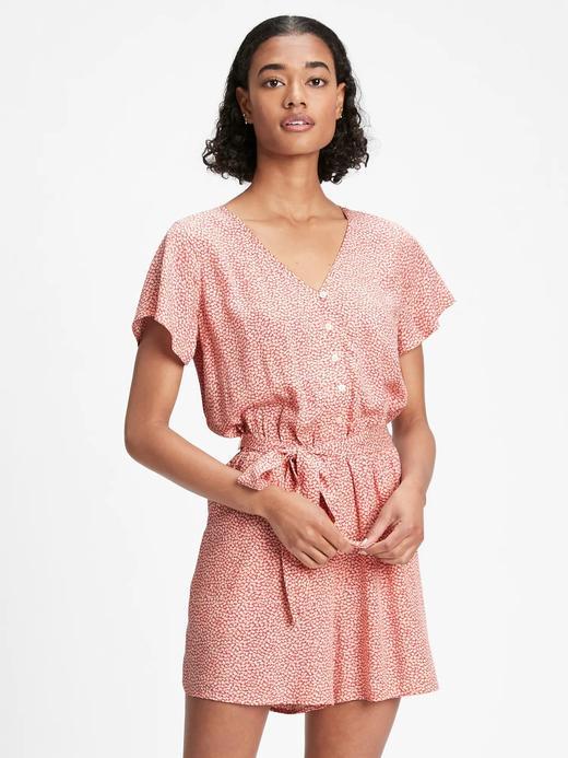 Kadın Pembe V Yaka Elbise