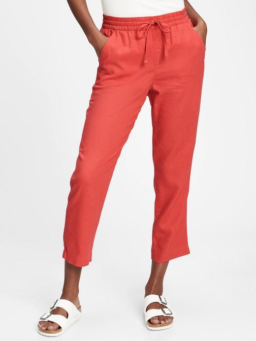 Kadın Pembe Pull-On Washwell™ Pantolon