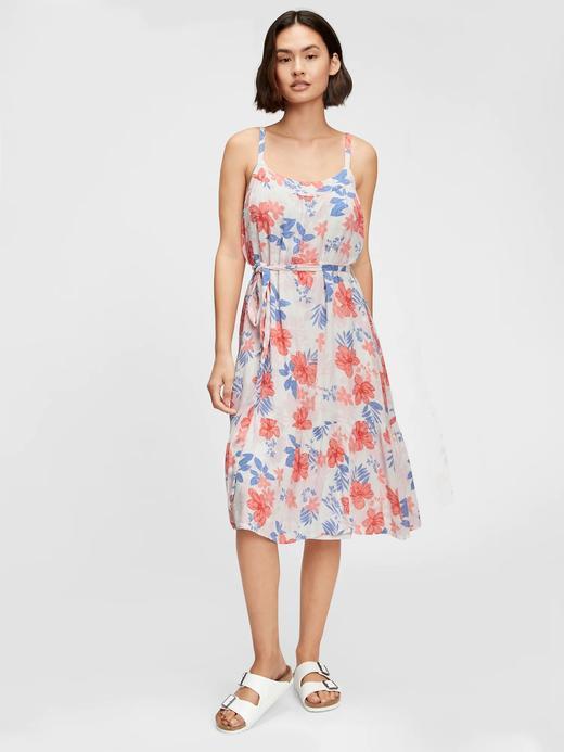 Kadın Pembe Midi Elbise