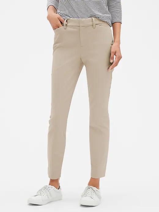Kadın Bej Skinny Ankle Pantolon