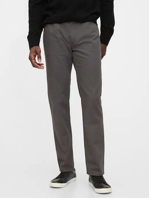 Erkek Gri Washwell™ Straight Jean Pantolon