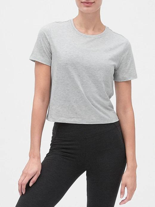 Kadın Gri GapFit T-Shirt