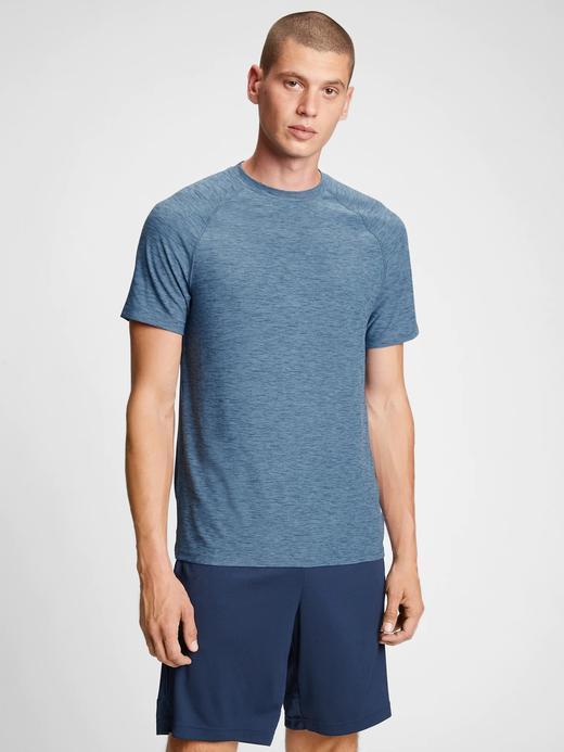 Erkek Mavi GapFit All Day T-Shirt