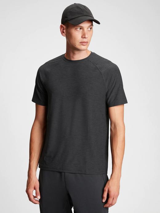 Erkek Siyah GapFit All Day T-Shirt