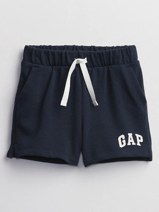 Kız Bebek lacivert Gap Logo Pull On  Şort
