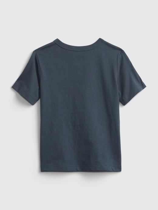 Erkek Bebek Yeşil Kısa Kollu Grafik T-Shirt