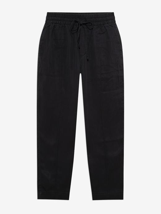 Kadın Siyah Washwell™ Pull-On Jogger Pantolon