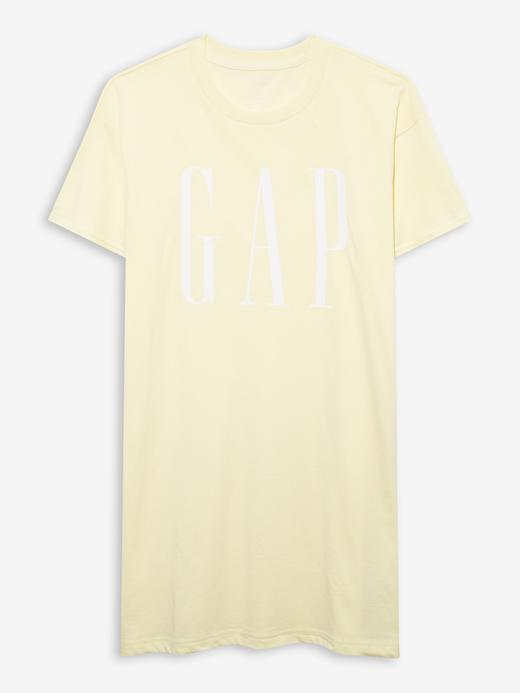 Kadın Sarı T-Shirt Elbise