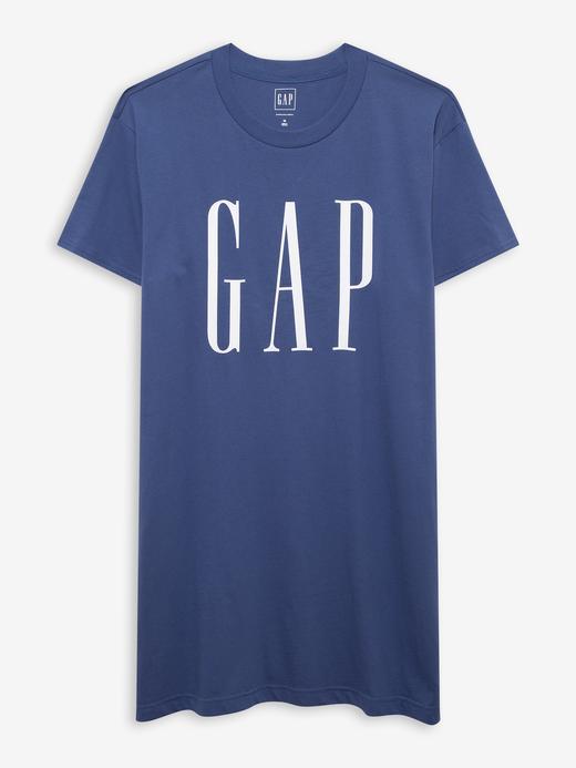 Kadın Mavi T-Shirt Elbise