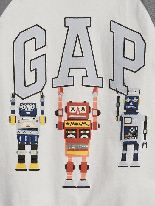 Erkek Bebek multi %100 Organik Pamuk Gap Logo T-Shirt