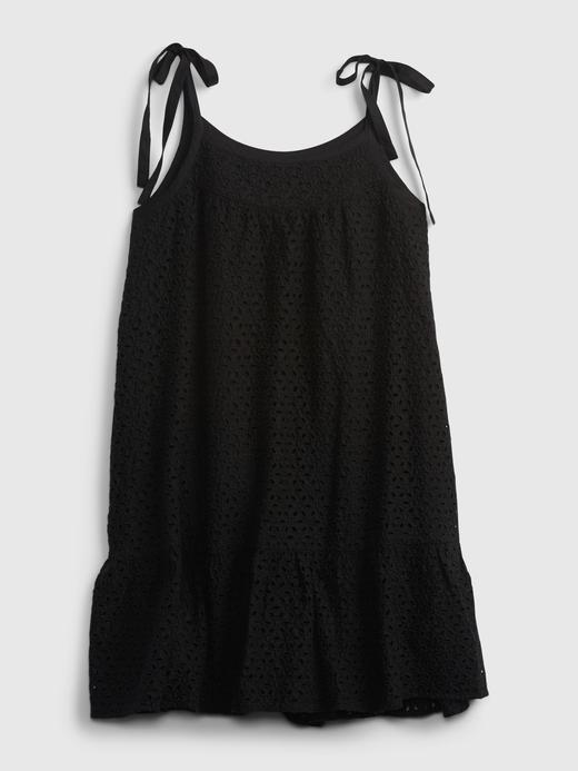 Kadın siyah Askılı Mini Elbise