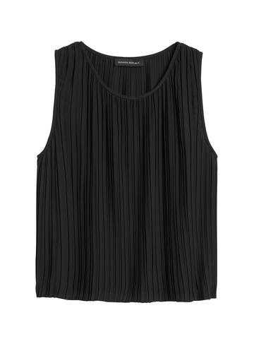 Kadın Beyaz Pliseli Cropped Bluz