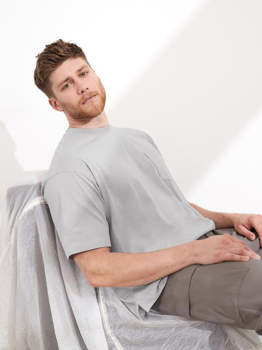 Erkek Gri Authentic SUPIMA® T-Shirt