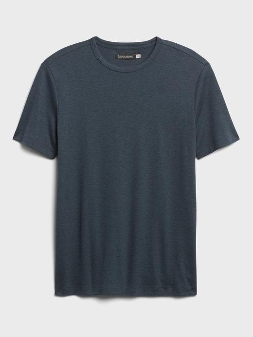 Erkek Lacivert Luxury Touch Performance T-Shirt