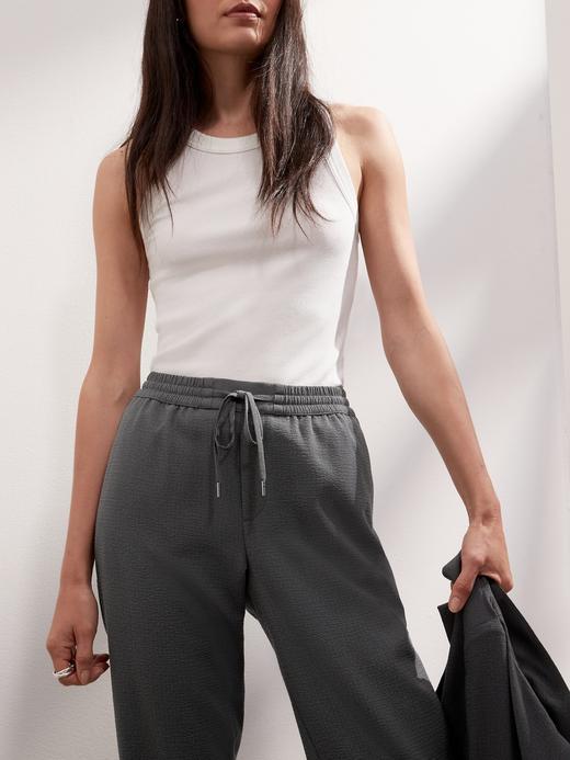 Kadın ORCA Slim Seersucker Pantolon