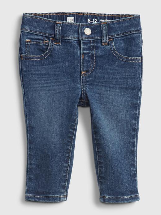 Erkek Bebek Lacivert Good Skinny Jean Pantolon
