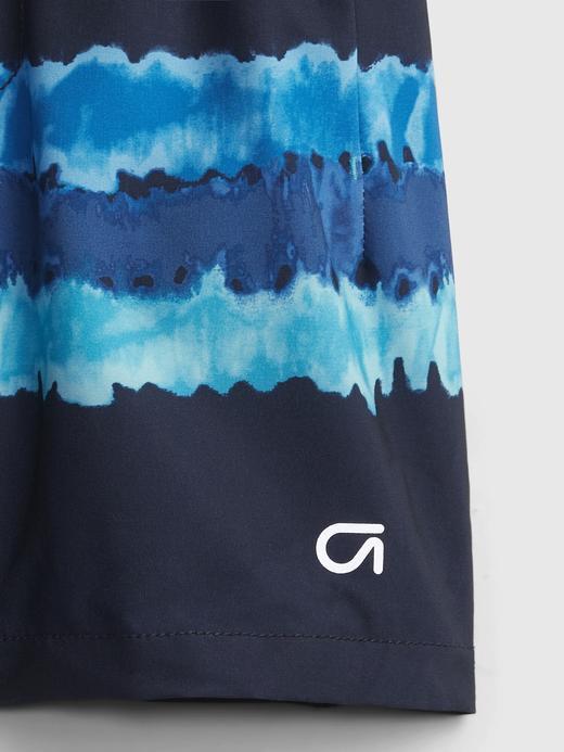 Erkek Bebek Mavi GapFit Toddler Quick Dry Pull-On Şort