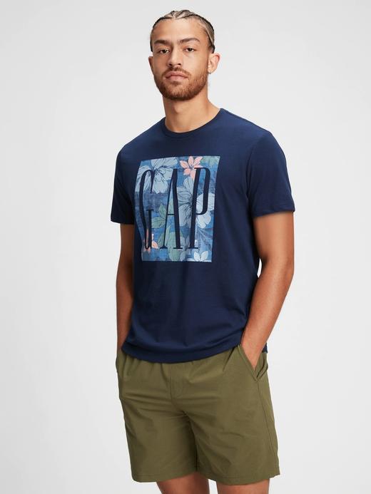 Erkek lacivert Gap Logo T-Shirt