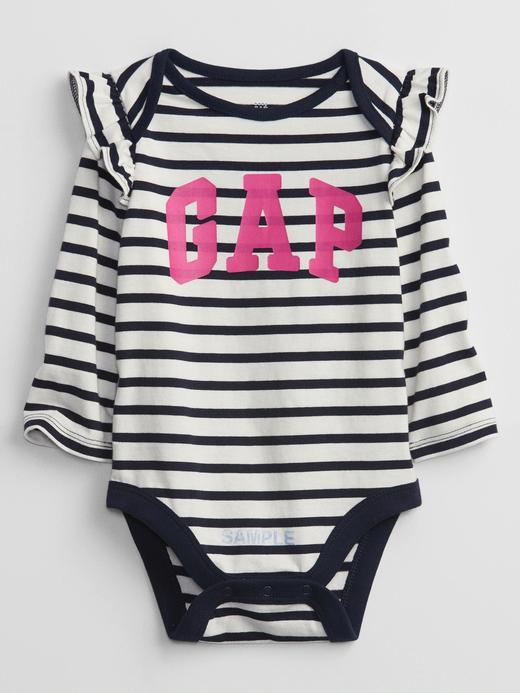 Kız Bebek Lacivert Gap Logo Baby Bodysuit