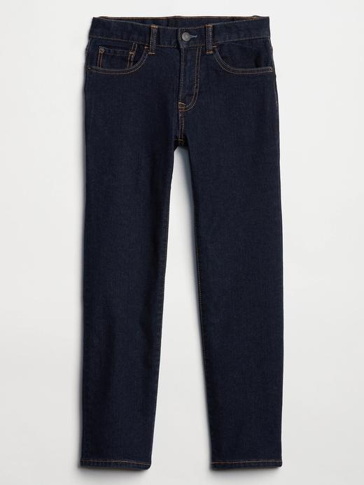 Erkek Çocuk Lacivert Washwell™ Straight Jean