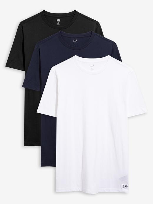 Erkek Çok Renkli 3'lü Kısa Kollu T-Shirt