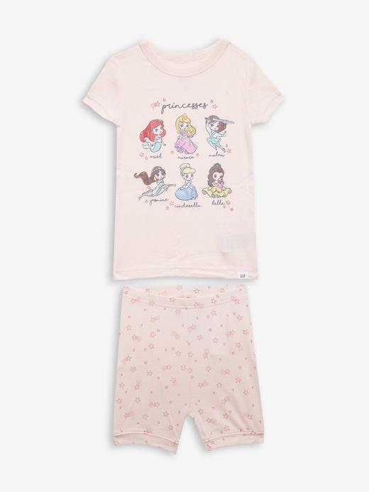Kız Bebek pembe %100 Organik Pamuk Disney Pijama Seti