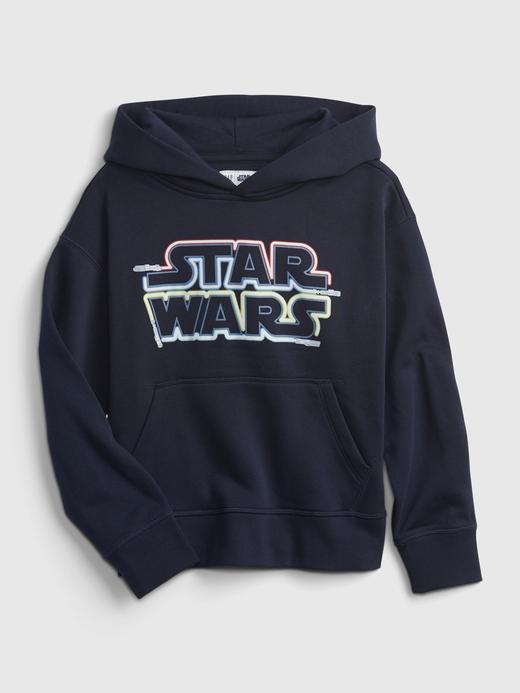 Erkek Çocuk Lacivert Star Wars™ Kapüşonlu Sweatshirt