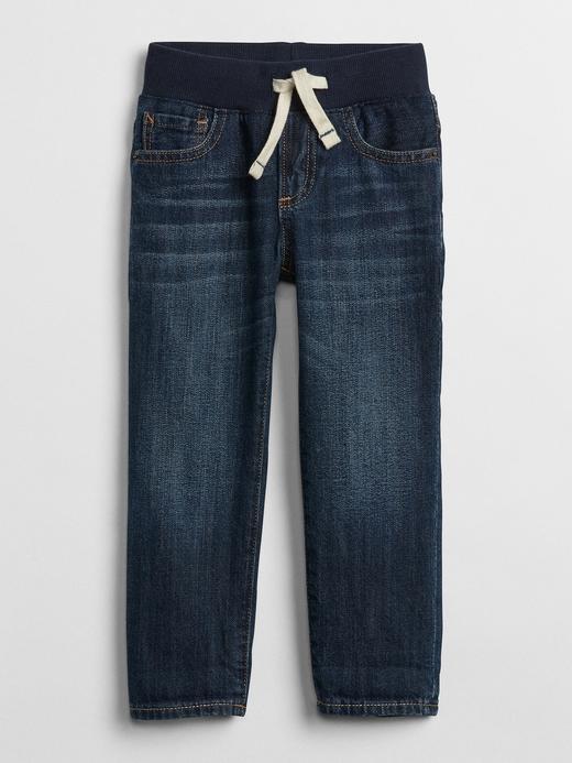 Erkek Bebek lacivert Pull On Slim Jean
