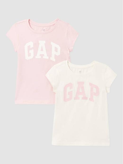 Kız Çocuk Çok Renkli Kids 2'li Gap Logo T-Shirt
