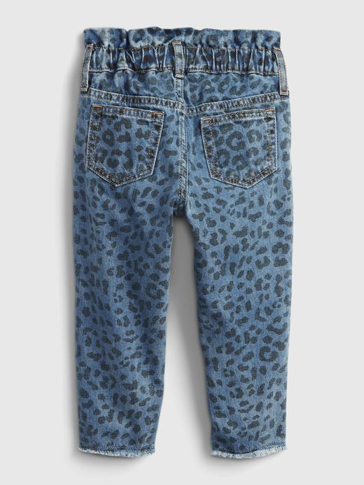 Kız Bebek Mavi Washwell™ Pull-On Jean Pantolon