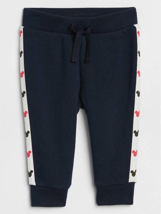 Erkek Bebek Lacivert Disney Mickey Mouse Pull On Pantolon