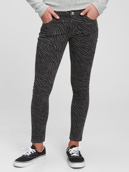 Kız Çocuk Siyah Kids Super Skinny Jean Pantolon