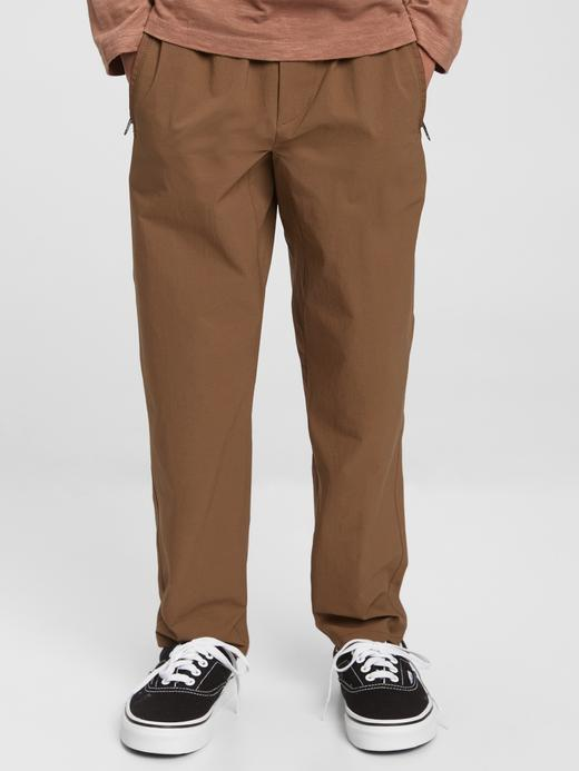 Erkek Çocuk Siyah QuickDry Pull-On Hybrid Pantolon