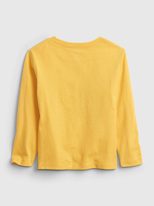 Erkek Bebek Sarı Gap Logo T-Shirt